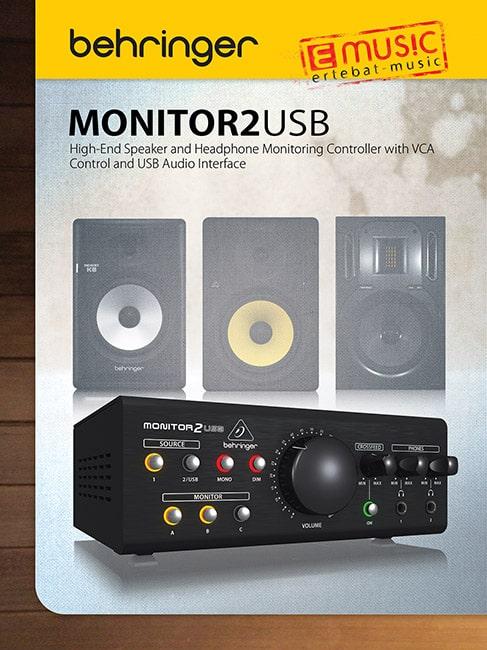 رپرتاژ آگهی و مقاله سیستم مدیریت اسپیکر و هدفون مانیتور MONITOR2USB بهرینگر